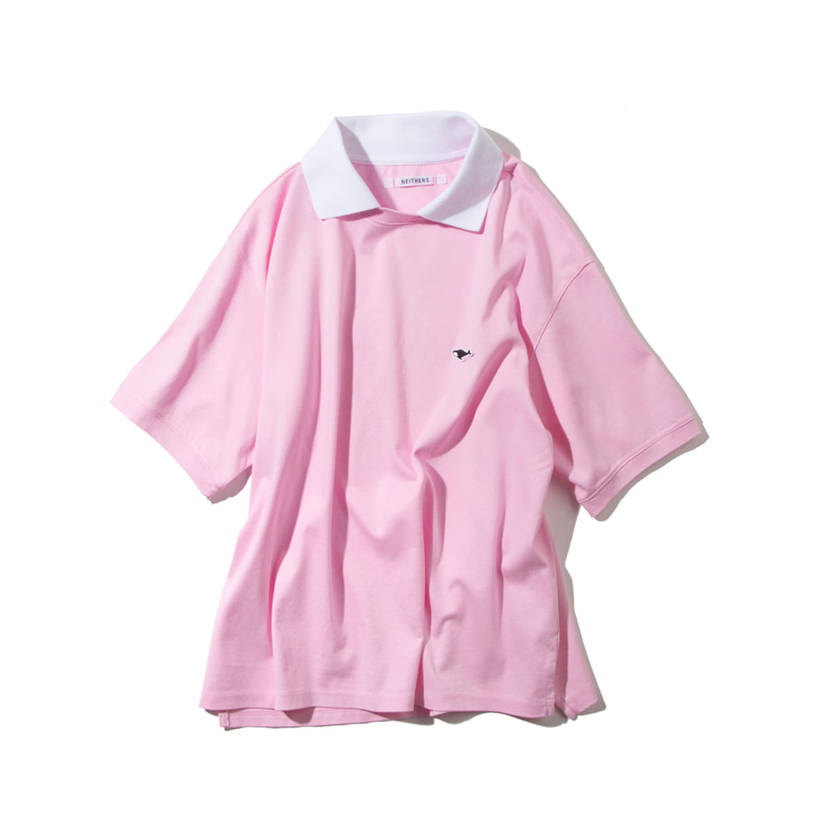 [NEITHERS] 202-1 COLLAR T-SHIRT 'PINK'
