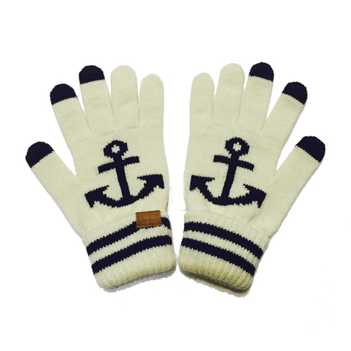 [INFIELDER DESIGN] Anchor Gloves - white