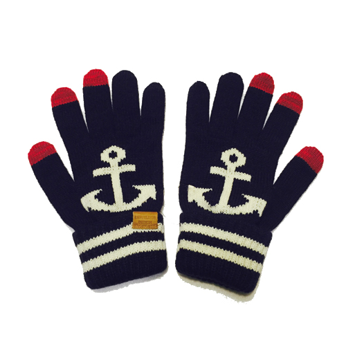 [INFIELDER DESIGN] Anchor Gloves - navy