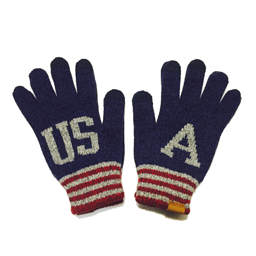 [INFIELDER DESIGN] USA Gloves - navy