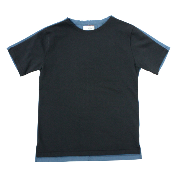 [STILL BY HAND] PATCHING T-SHIRT CHARCOAL