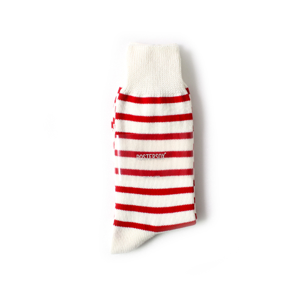 [INFIELDER DESIGN] ROSTER SOX STRIPE RED