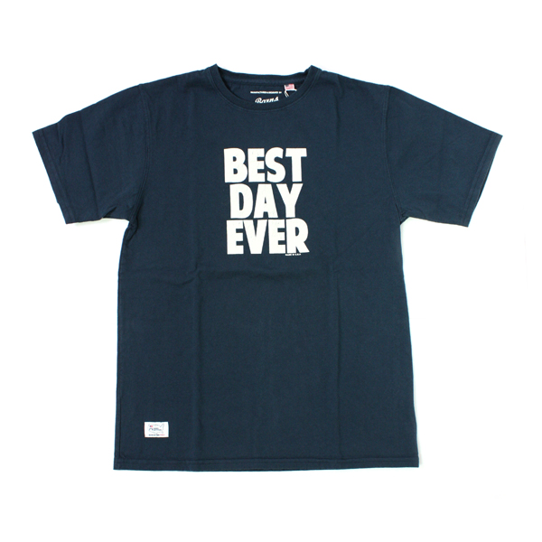 BEST DAY EVER T-SHIRTS navy