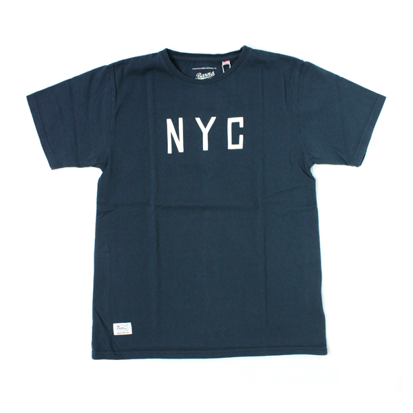 [BARNS OUTFITTERS] NYC T-SHIRTS navy