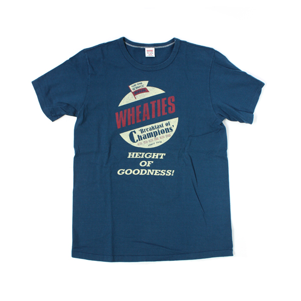 [BARNS OUTFITTERS] WHEATIES T-SHIRT steel blue