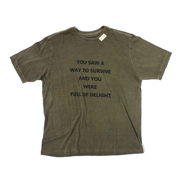 [BARNS OUTFITTERS] FONT PRINT khaki