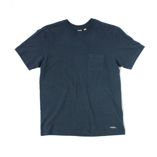 [BARNS OUTFITTERS] POCKET T-SHIRT navy