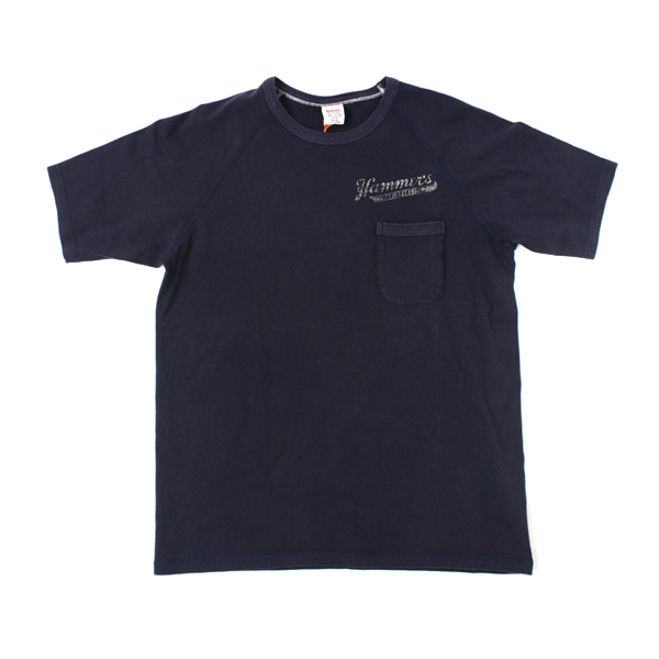 [BARNS OUTFITTERS] CREWNECK POCKET navy