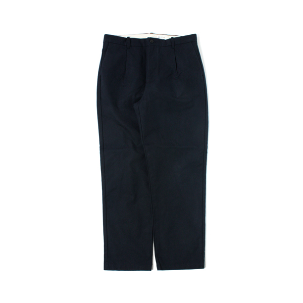 [STILL BY HAND] HARD CANVAS PANTS navy