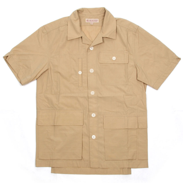 [BE HEAVYER] BDU Half Jacket - Beige