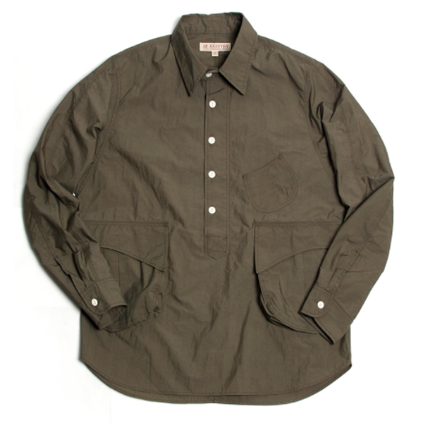 [BE HEAVYER] Desert Pullover Shirt - Olive