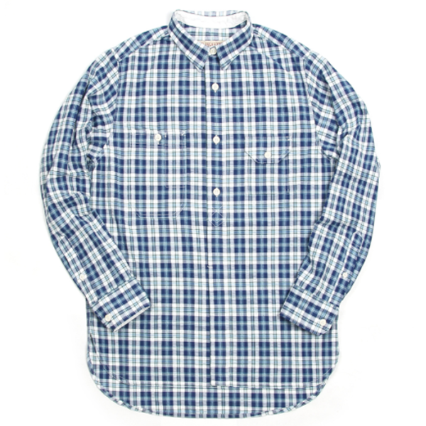 [BE HEAVYER] Standard Shirt - Blue Check