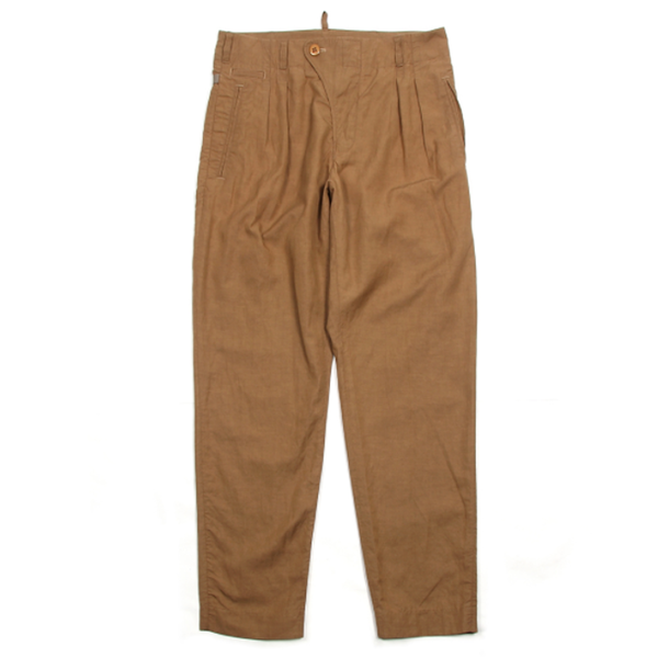 [BE HEAVYER] Linen Pants - Camel