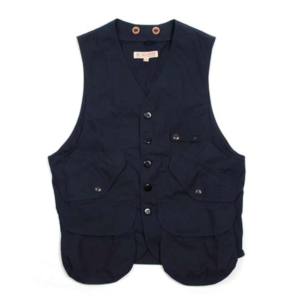 [BE HEAVYER] Storage Vest - Navy