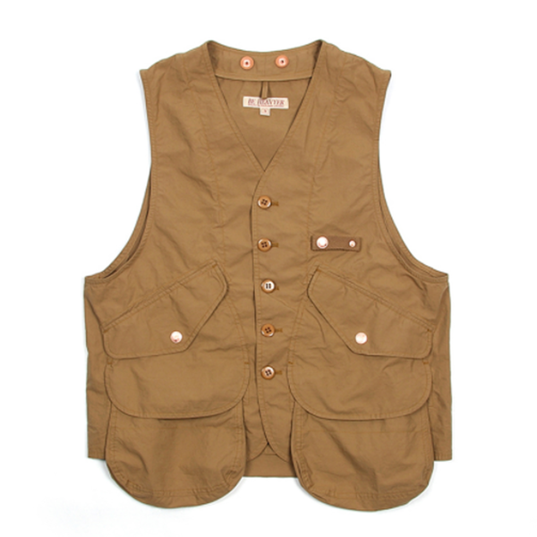 [BE HEAVYER] Storage Vest - Sand