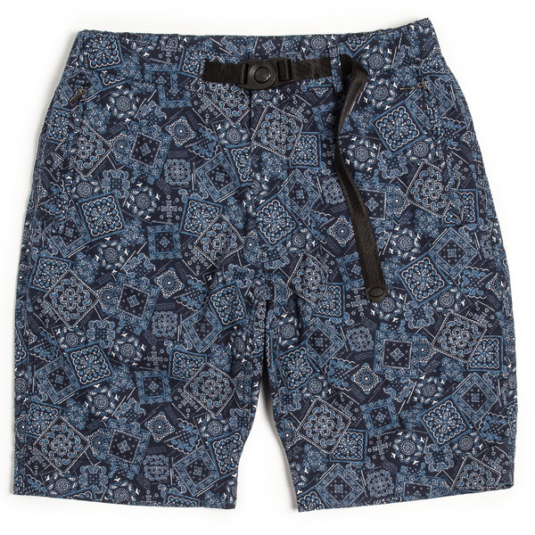 [UNAFFECTED] CLIMBING SHORTS NAVY BANDANA