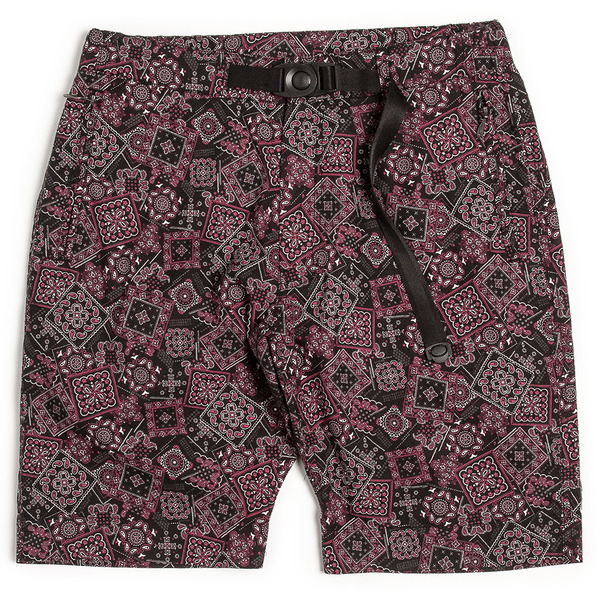 [UNAFFECTED] CLIMBING SHORTS BLACK BANDANA