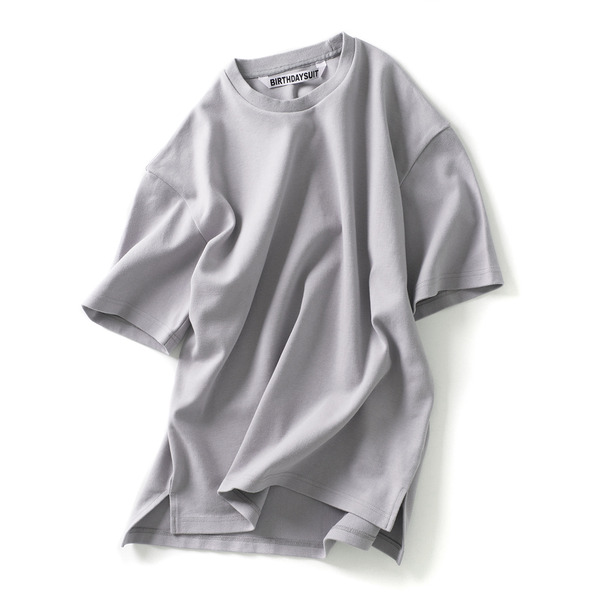 [BIRTHDAYSUIT] Oversized T-Shirts (Grey)