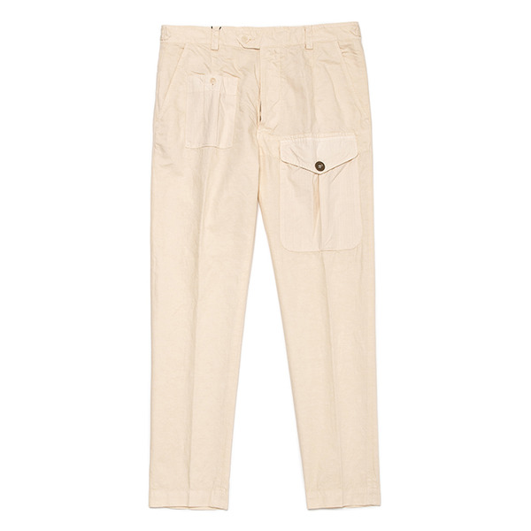 [EAST HARBOUR SURPLUS] MEYER POCKET PANT ECRU