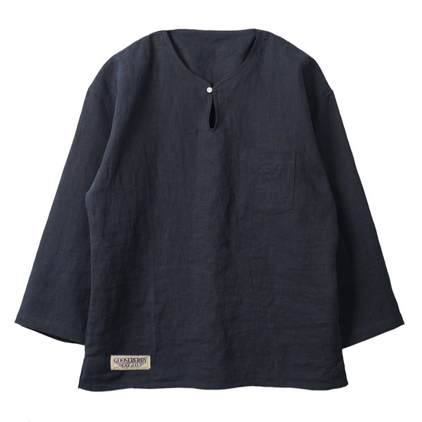 "[Gooseberry Lay & Co.] Doc. Tunic Shirt ""Navy"""