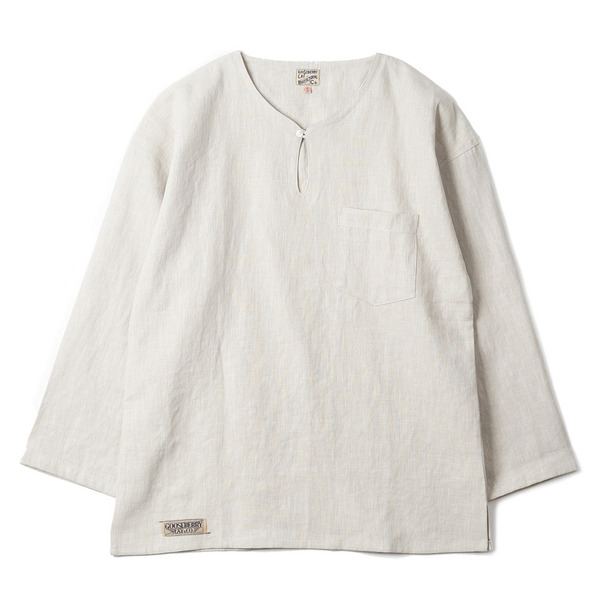 "[Gooseberry Lay & Co.] Doc. Tunic Shirt ""Beige"""