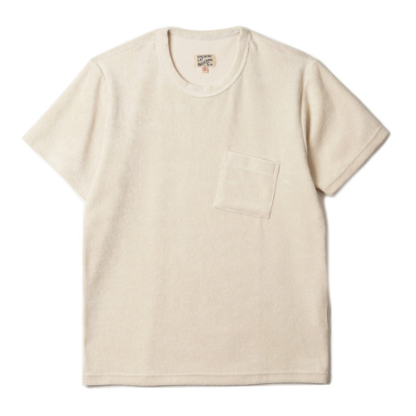 "[Gooseberry Lay & Co.] Pocket Terry Tee ""Natural"""