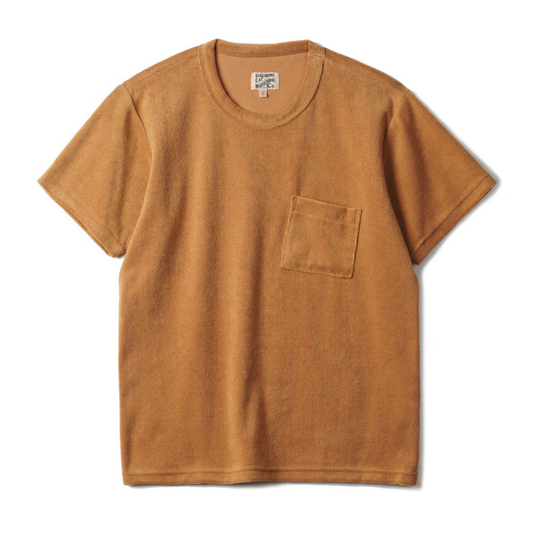 "[Gooseberry Lay & Co.] Pocket Terry Tee ""Mustard"""