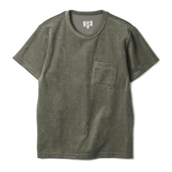 "[Gooseberry Lay & Co.] Pocket Terry Tee ""Olive"""