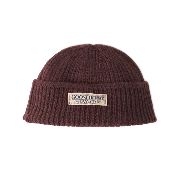 "[Gooseberry Lay & Co.] Barari Watch Cap ""Brown"""