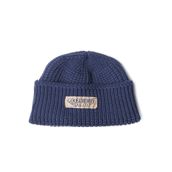 "[Gooseberry Lay & Co.] Barari Watch Cap ""Blue"""