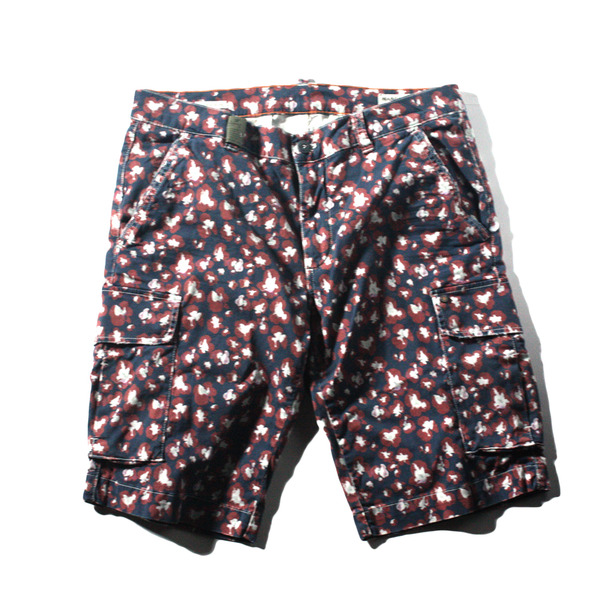 [Mason's] CHILE FIT PATTERN SHORTS