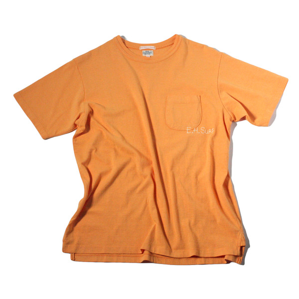 [EAST HARBOUR SURPLUS] E.H.SURF T-SHIRT ORANGE