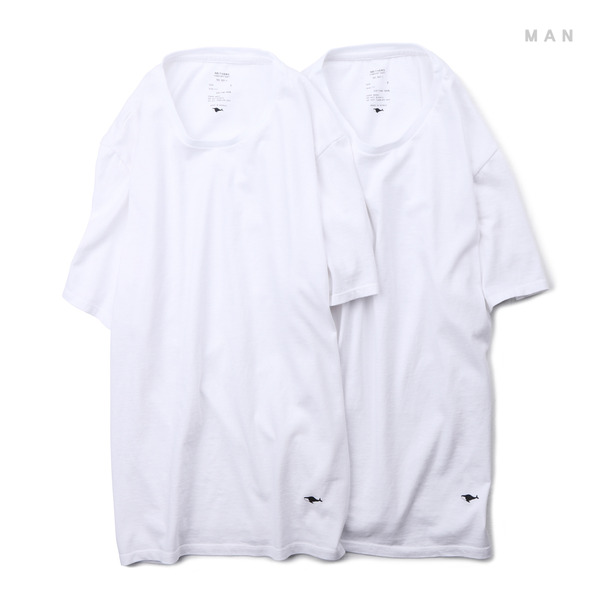 [NEITHERS] 501-1 2-PACK T-SHIRT WHITE