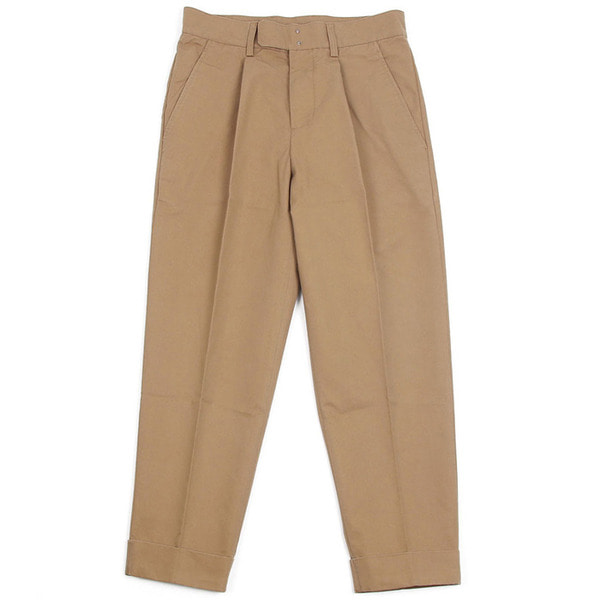 [BEHEAVYER] BHR CROP PANTS 'BEIGE'