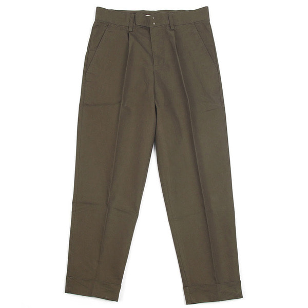 [BEHEAVYER] BHR CROP PANTS 'KHAKI'