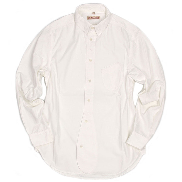 [BEHEAVYER] 1 1/2 SHIRT 'WHITE'