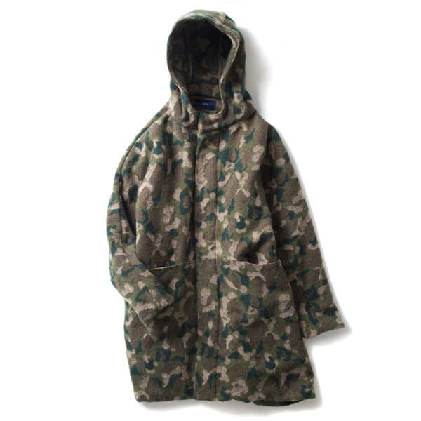 [ORDINARY FITS] #WHITE : CAMO FIELD PARKA 'OLIVE'