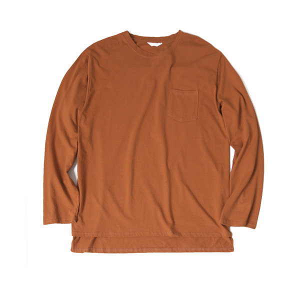 [FORUMWEAR] BIG LONG SLEEVE T SHIRT 'BROWN'