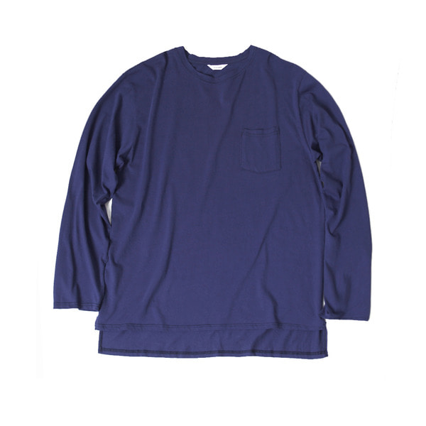 [FORUMWEAR] BIG LONG SLEEVE T SHIRT 'NAVY'