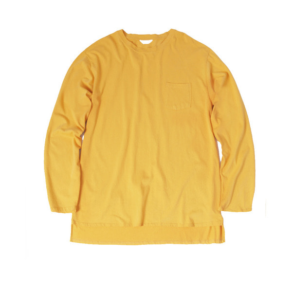 [FORUMWEAR] BIG LONG SLEEVE T SHIRT 'YELLOW'