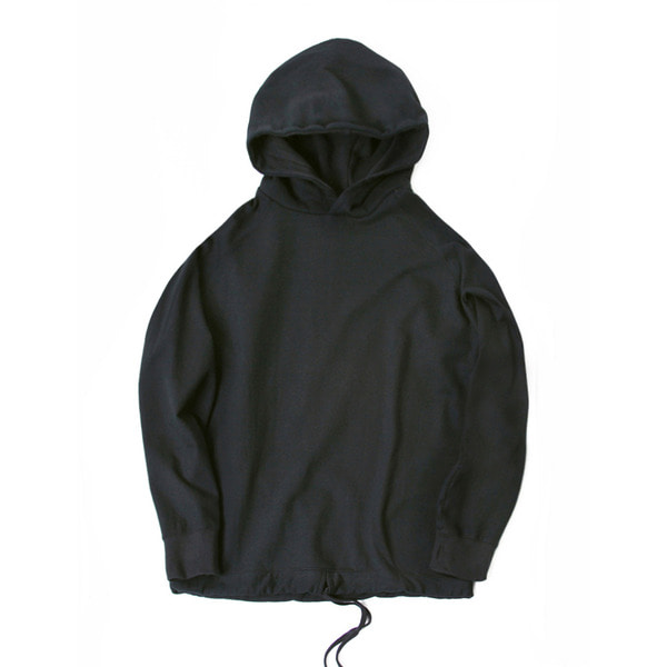[FOURMWEAR] BIG HOODED SWEATSHIRT 'CHARCOAL'