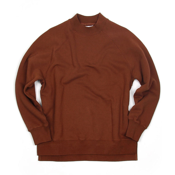 [BEHEAVYER] BHR POLLAR SWEAT SHIRT 'BROWN'