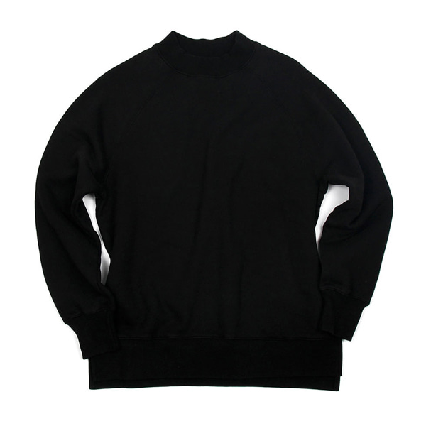 [BEHEAVYER] BHR POLLAR SWEAT SHIRT 'BLACK'