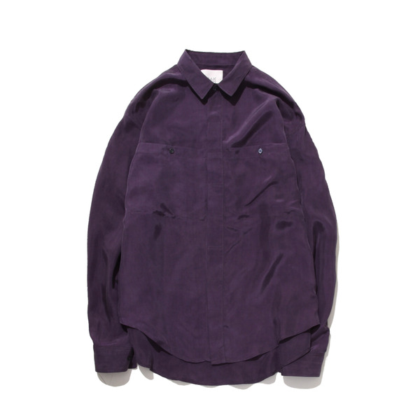 [GAKURO] BEMBERG SHIRTS 'PURPLE'