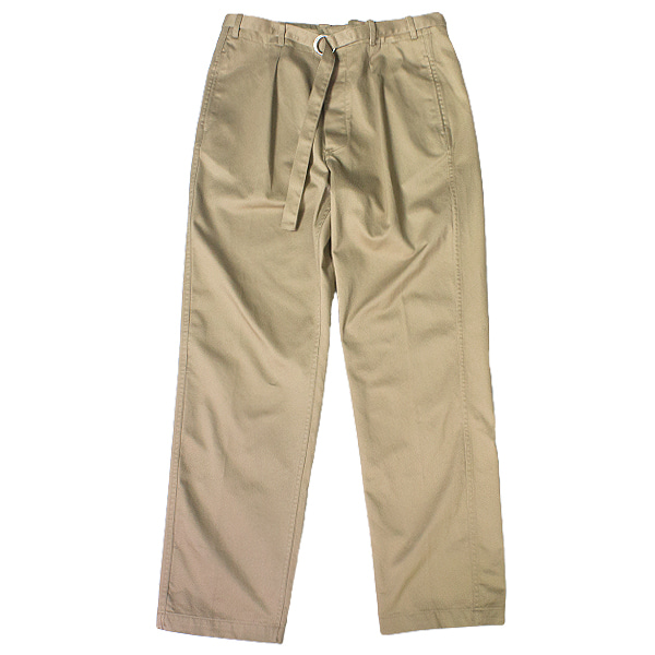 [DOCUMENT] BELTED CHINO PANTS 'BEIGE'