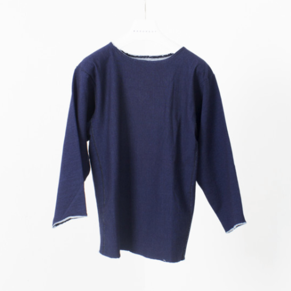 [DOCUMENT] INDIGO SWEAT JERSEY 'NAVY'