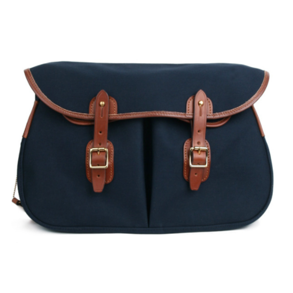 [BRADY BAGS] SMALL ARIEL TROUT FISHING BAG 'NAVY'