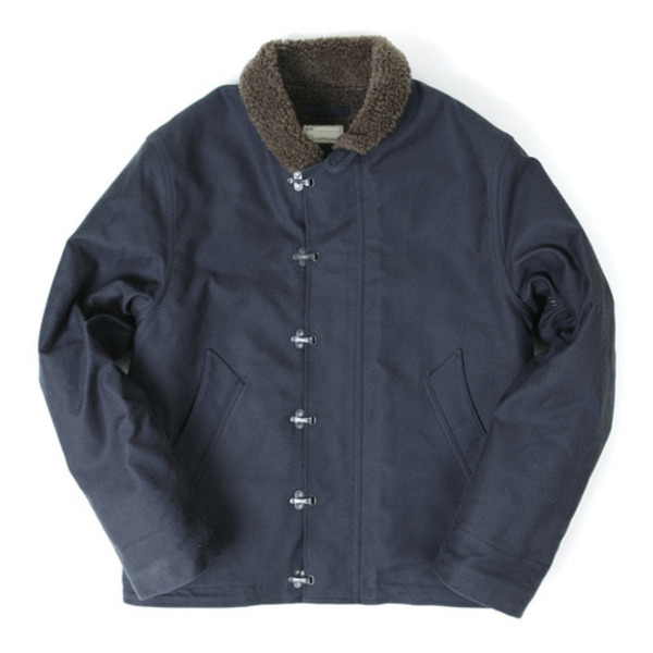 [OUTSTANDING] N-1 DECK HOOK JACKET 'NAVY'
