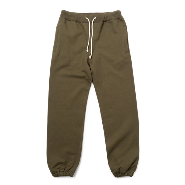 [BIG UNION] 17FW SWEAT PANTS 'OLIVE'