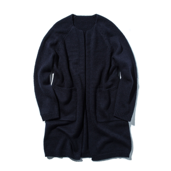 [STAND OUT STORE] 4G KNIT COAT 'NAVY'